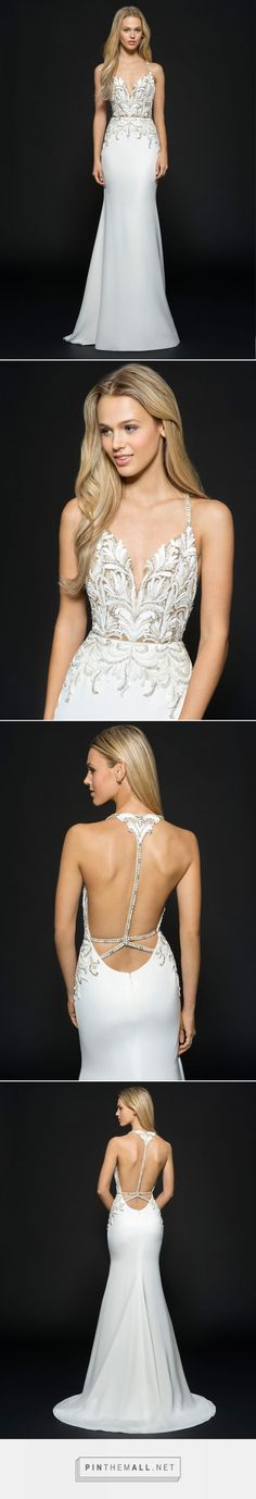 Bridal Gowns and Wedding Dresses by JLM Couture - Style 6659 Edie Hayley Paige Fall 2016 - created via https://pinthemall.net