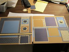 Pemberly page layout from CTMH