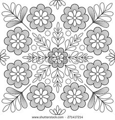 Find Beautiful Folk Art Motif stock images in HD and millions of other royalty-free stock photos, illustrations and vectors in the Shutterstock collection. Thousands of new, high-quality pictures added every day. Chain Stitch Embroidery, Crewel Embroidery Kits, Floral Embroidery Patterns, Learn Embroidery, Hand Embroidery Designs, Flower Patterns, Mexican Embroidery, Hungarian Embroidery, Embroidery Techniques
