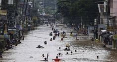 Impact #2 - In the week of August 21, 2013, there was a flood that buried most of Northern Philippines in water. According to an assessment of the climate, the flood was caused by violent storms with almost 24 inches of rainfall - more than a month's worth of rain.