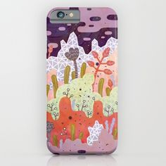 Crystal Forest iPhone & iPod Case by LordofMasks | Society6