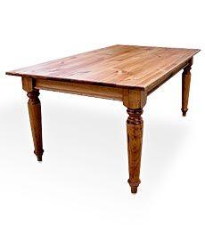 5' Plank Top Farmhouse Table