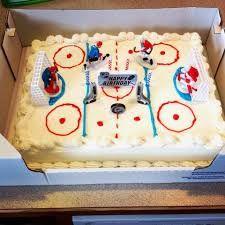 Image result for hockey birthday cake