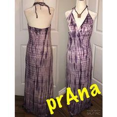 prAna maxi dress Gorgeous - purple tie dye maxi by prAna. 50% cotton 50% modal. prAna Dresses Maxi