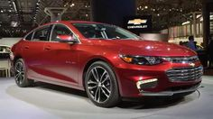 2016 Chevrolet Malibu Hybrid - 2015 New York Auto Show