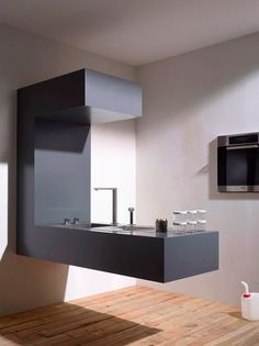 Kitchen with floating top