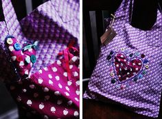 Real Eco Tote Bag handmade by me! Photography Rebecca Palmer