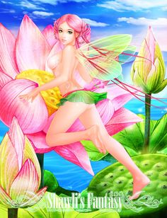 Lotus Fairy by shawli2007 on DeviantArt