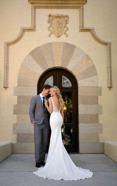 Rembo Styling, Lace Wedding Dress, Designer Wedding Dresses, Wedding Designers, Fascinator, Bridal Gowns, Wedding Gowns, Vows Bridal, Stella York Bridal