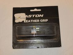 Easton leather grip black 2006673 perforation pattern for drier grip NOS NIP #Easton