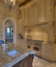 French country kitchen ideas kitchens pinterest for Luxury french kitchen