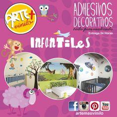 adhesivos decorativos infantiles arte mas vinilo