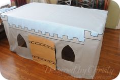 A Castle Fit For Little Kings {tutorial