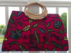 African Fabric Ankara Purse African Bag African by Sandoodles
