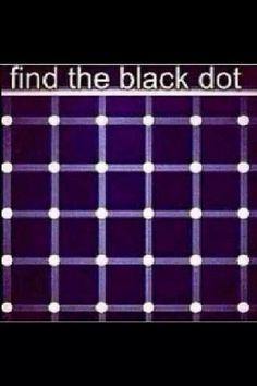 Optical illusion I have found many black dots on this but they keep moving thanks Duane! Eye Illusions, Cool Optical Illusions, Eye Tricks, Brain Tricks, Reto Mental, Pin It, Brain Games, Illusion Art, Mind Games