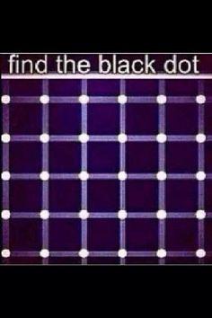 Find the black dot