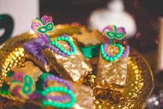 Mardi Gras Birthday Party