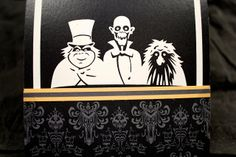 Haunted Mansion Wedding Invitations