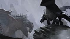How to train your dragon, toothless, night fury, dragon, red death, green death, merciless