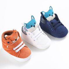 Cheap baby boy shoes sneakers, Buy Quality crib shoes directly from China newborn baby boy shoes Suppliers: ROMIRUS New Baby Shoes First Walkers Infant Baby Girls Boys Pram Crib Shoes Soft Sole Newborn Baby Boys Shoes Sneakers Prewalker Cute Baby Shoes, Baby Boy Shoes, Crib Shoes, Girls Shoes, Baby Galerie, Fashion Kids, Trendy Fashion, Womens Fashion, Fox Shoes