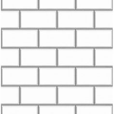 Ceramica White Subway Tile Effect Wallpaper by Fine Decor FD40136- homeflairdecor.co.uk - gotta order from the UK!