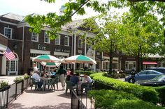 Shaker Square. Check out the farmers market on Saturday mornings.  Fire Food and Drink and Edwins are great restaurants for dinner.  Yours Truly is one of Cleveland's most popular diners.