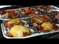 Bacon Wrapped Eggs (EPIC BREAKFAST MEAL)