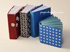 Mini modular tutorial Libro de origami