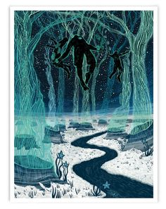 The Visitors (Limited Edition of 40) – James R. Eads Illustration