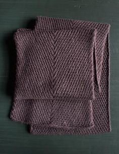 Diagonal Twist Scarf