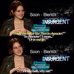 she is a true divergent #insurgent