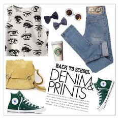 """""""Back to School: Denim Guide"""" by teoecar ❤ liked on Polyvore"""