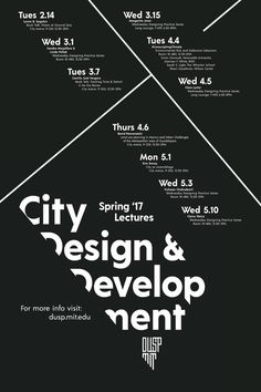 Get Lectured: MIT, Spring '17 | Courtesy of MIT School of Architecture + Planning | Archinect