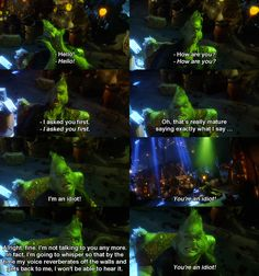 How the grinch stole christmas-- One of my favorite parts!