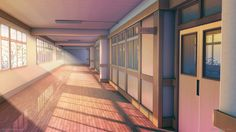 School Corridor by on DeviantArt - School Corridor by on DeviantArt - Episode Interactive Backgrounds, Episode Backgrounds, Anime Backgrounds Wallpapers, Anime Scenery Wallpaper, Animes Wallpapers, Scenery Background, Background Drawing, Cartoon Background, Animation Background