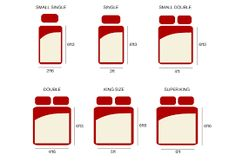 Image result for sizes of beds