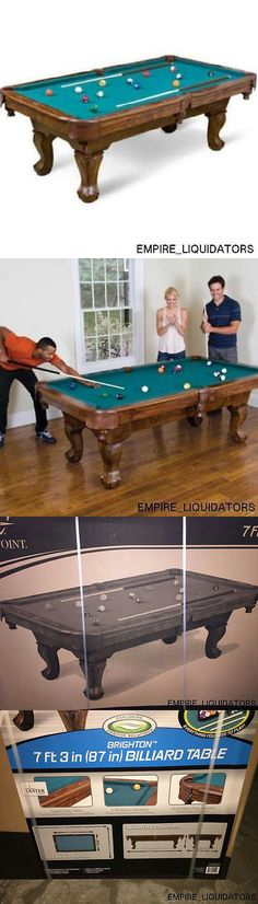 Tables 21213: Brand New Eastpoint Sports 87 Brighton Billiards Pool Snooker  Table Game Table