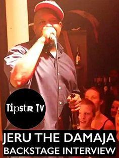 Jeru The Damaja - rare backstage interview [OV] Amazon Video ~ Jeru The Damaja…