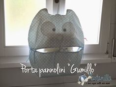 "tartamilla: Cartamodello + tutorial PORTAPANNOLINI ""GUMILLO"""