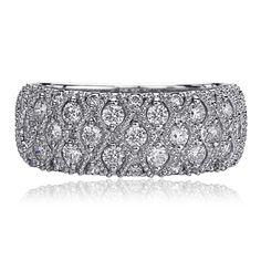 Christopher Designs 47B Christopher Designs, Cuff Bracelets, Belt, Rings, Pattern, Wedding, Accessories, Jewelry, Fashion
