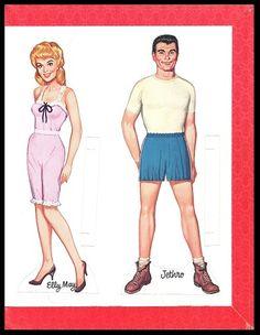 THE BEVERLY HILLBILLIES 1964 ORIGINAL UNCUT BOOK | eBay