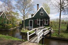 Visita a Zaanse Schans: cidade dos moinhos na Holanda