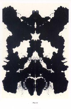 Warhol Rorschach Plate #13