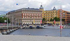 Stockholm strömmen byggnader.