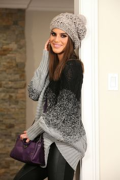 Look do dia: Glam Slip-On & Sweater!