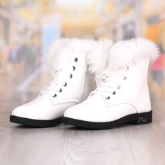 Ghete Dama Albe Imblanite cu Fermoar si Snur Cod: 2038DL Dr. Martens, High Tops, Combat Boots, High Top Sneakers, Shoes, Fashion, Moda, Zapatos, Shoes Outlet