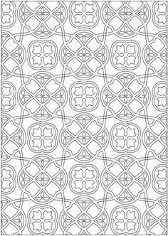 Welcome to Dover Publications Creative Haven Ornamental Designs Coloring Book by John M. Alves (Pic. 3)