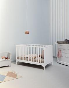 Oliver Furniture Babybett Umbaubett Seaside 70x140 Cm Weiß