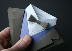 Suit Origami by Fedrigoni