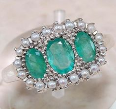 victorian era emerald ring